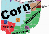 Map Of Green Ohio 8 Maps Of Ohio that are Just too Perfect and Hilarious Ohio Day