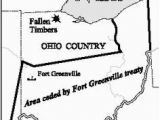Map Of Greenville Ohio Map Of Ohio and the N W Territory northwest Territory Pinterest