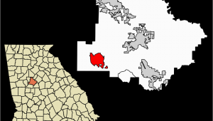 Map Of Hampton Georgia File Henry County Georgia Incorporated and Unincorporated areas