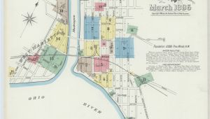 Map Of Hillsboro Ohio Map Ohio Library Of Congress