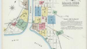 Map Of Hillsboro Ohio Map Ohio Library Of Congress
