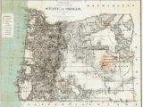 Map Of Hillsboro oregon Details About 1879 oregon Map or Hillsboro Madras north Bend Molalla