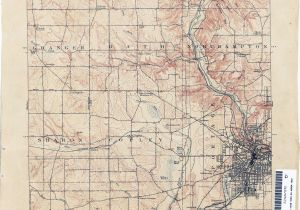 Map Of Holmes County Ohio Ohio Historical topographic Maps Perry Castaa Eda Map Collection