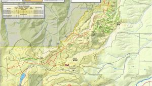 Map Of Hood River oregon Post Canyon Mountain Biking Trail System Maplets