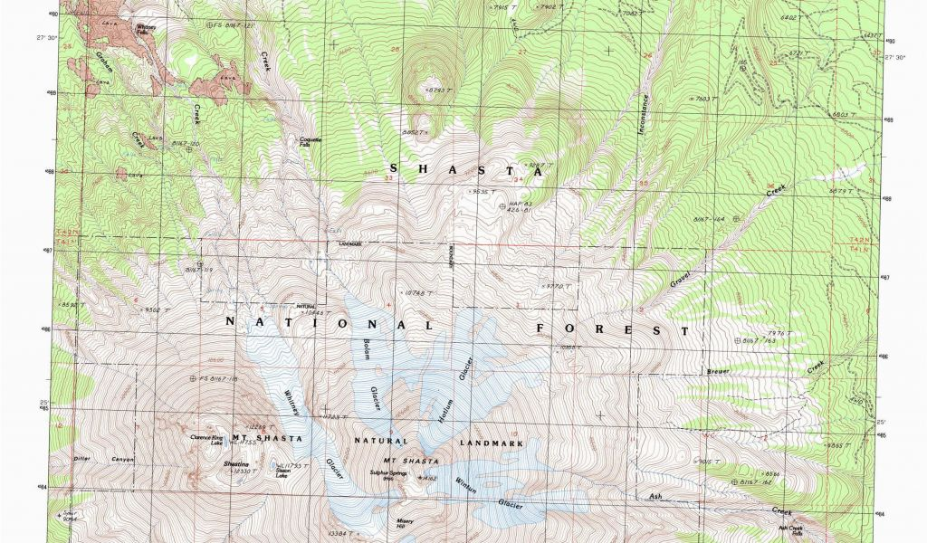 Map Of Hot Springs In California Od Gallery For Graphers Mt Shasta