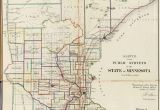 Map Of Hubbard Ohio Old Historical City County and State Maps Of Minnesota