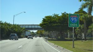 Map Of I 95 Exits In north Carolina Interstate Guide Interstate 95