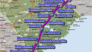 Map Of I 95 In north Carolina Cross south Carolina Photos Maps News Traveltempters