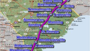 Map Of I 95 north Carolina Cross south Carolina Photos Maps News Traveltempters
