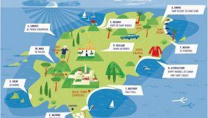 Map Of Ibiza Spain Ibiza Map Ibiza In 2019 Ibiza Ibiza Spanje En Vakantie