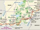 Map Of Indiana Ohio and Kentucky Indiana Scenic Drives Ohio River Scenic byway Indiana the Place