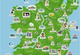 Map Of Ireland and Its Counties Map Of Ireland Ireland Trip to Ireland In 2019 Ireland
