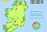 Map Of Ireland Rivers and Mountains Know Your Ireland