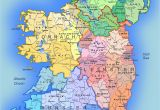 Map Of Ireland Showing the Counties Detailed Large Map Of Ireland Administrative Map Of Ireland