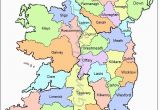 Map Of Ireland Showing towns Map Of Counties In Ireland This County Map Of Ireland