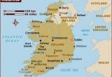 Map Of Ireland Showing towns Map Of Ireland