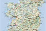 Map Of Ireland Showing towns Most Popular tourist attractions In Ireland Free Paid