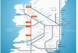 Map Of Ireland Train Routes Irish Rail Map 2010 Grannymar Travel Train Map Travel