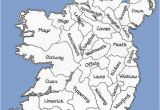 Map Of Ireland with County Names Counties Of the Republic Of Ireland