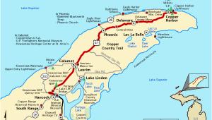 Map Of Iron River Michigan Michigan Trail Maps