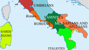 Map Of Italy 500 Bc Italy In 400 Bc Roman Maps Italy History Roman Empire Italy Map
