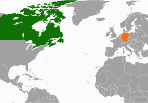Map Of Italy and Germany Canada Germany Relations Wikipedia