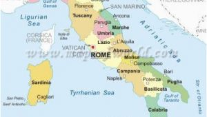 Map Of Italy by Regions and Cities Maps Of Italy Political Physical Location Outline thematic and