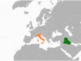 Map Of Italy Croatia Iraq Italy Relations Wikipedia