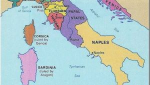 Map Of Italy During the Renaissance Italy 1300s Historical Stuff Italy Map Italy History Renaissance