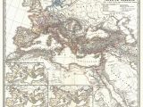 Map Of Italy In Roman Times File 1865 Spruner Map Of the Roman Empire Under Diocletian
