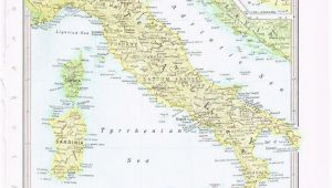 Map Of Italy Lakes 1960 Vintage Map Italy by Knickoftime World Maps Vintage Maps