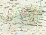 Map Of Italy Pdf Through Austria Along the River Drau Italy Cycling Guide