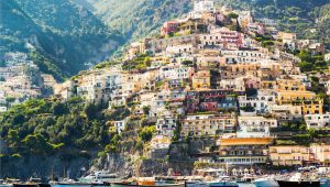 Map Of Italy Positano We Can T Get Over This Colorful View Of Positano Italy Travel