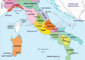 Map Of Italy English.Map Of Italy Regions In English Large Detailed Map Of Sardinia With