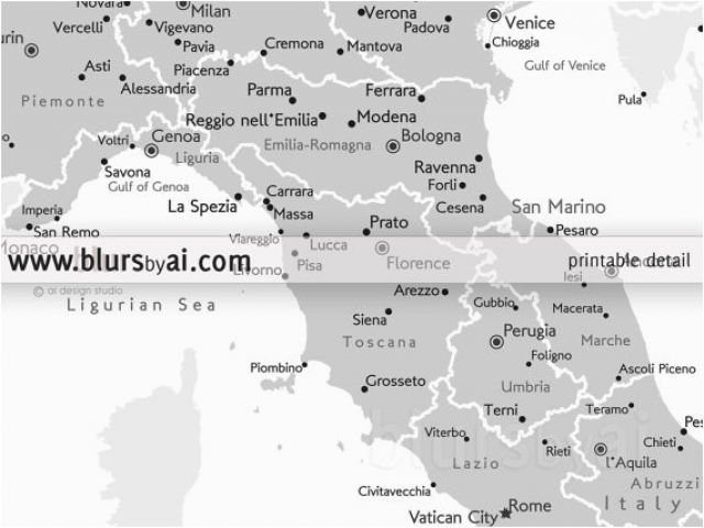 Map Of Italy Showing Verona.Map Of Italy Showing Bologna 8 10 16 20 Printable Map Of Italy Italy