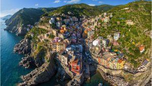 Map Of Italy Showing Cinque Terre Cinque Terre Italy