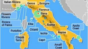Map Of Italy Showing Portofino Awesome Map Of Italy Portofino Maps Of Italy and Itineraries In