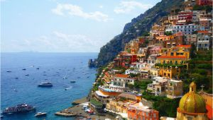 Map Of Italy Showing Positano Amalfi Coast tourist Map and Travel Information