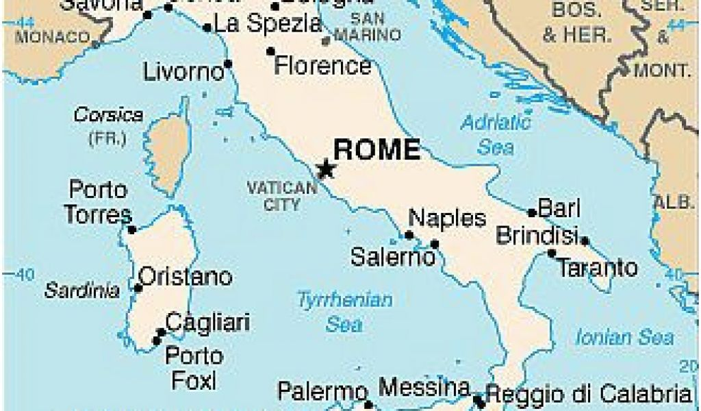 Map Of Italy Showing Venice.Map Of Italy Showing Venice Italy Climate Average Weather
