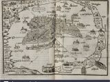 Map Of Italy Showing Venice Map Of the City State Of Venice Dated 1565 Lagoon and islands In