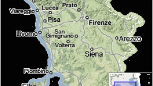Map Of Italy Tuscany with Cities Tuscany Map Map Of Tuscany Italy