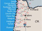 Map Of Jacksonville oregon oregon Coastal Map Secretmuseum