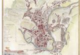 Map Of Jersey and England 1836 Map Of Bath by Moule B A T H England Uk Bath Map Bath