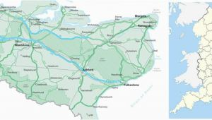 Map Of Kent England Uk Map Of Kent Visit south East England