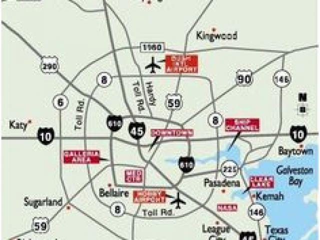 Map Of Kingwood Texas 25 Best Maps Houston Texas Surrounding ...