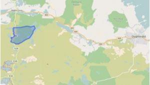 Map Of Knock Ireland Knock A Phreaghaun Knock A Phreaghaun Oughterard