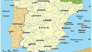 Map Of La Coruna Spain Coruna Spain Map World Map Interactive