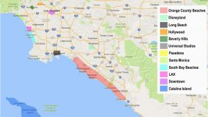 Map Of La Pine oregon How to Find the Best Place to Stay In Los Angeles