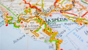 Map Of La Spezia Italy La Spezia Map Stockfotos La Spezia Map Bilder Alamy