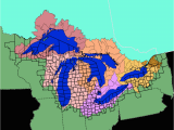Map Of Lakes In Michigan Facts and Figures the Great Lakes Us Epa